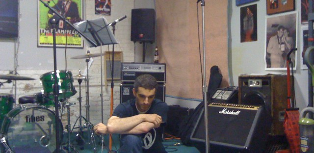 The Vortis Diaries: Rahm's rehearsal space