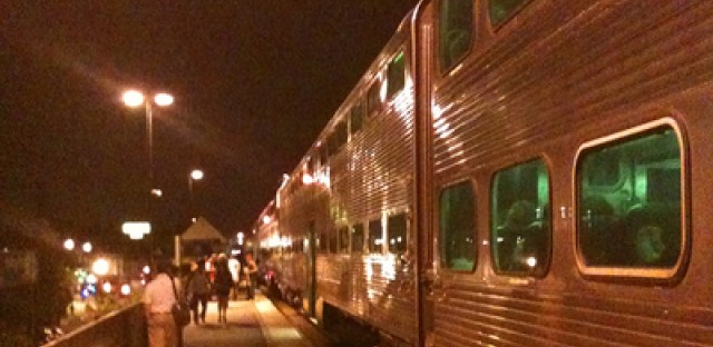 Passenger praises Metra's handling of storm delay