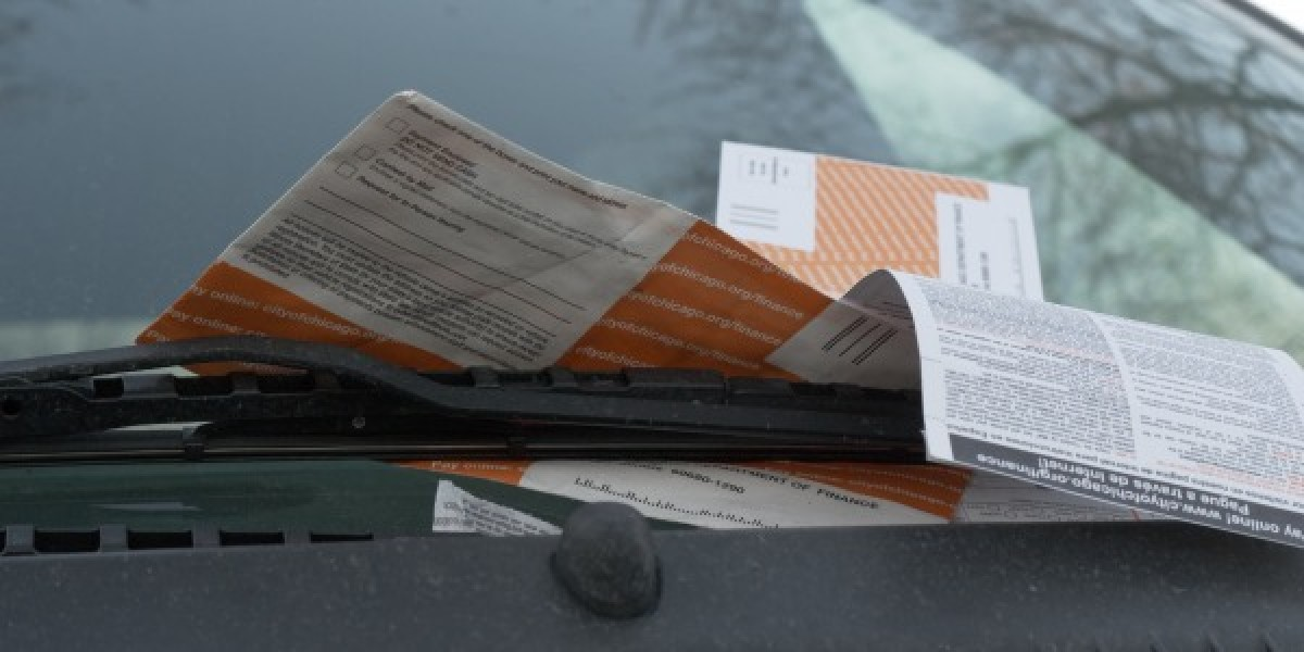 Parking Tickets On A Car
