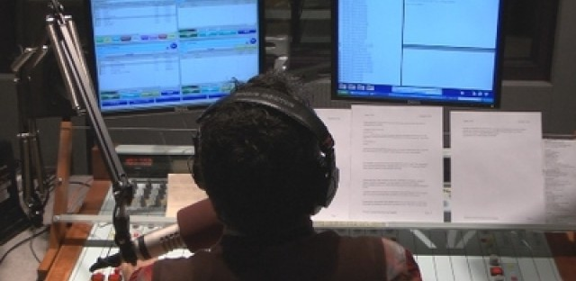 Video: Election night at WBEZ