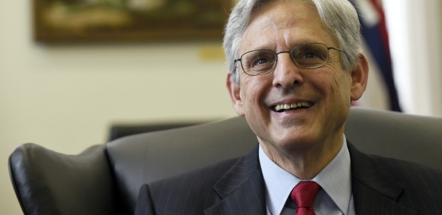 Supreme Court nominee Merrick Garland's confirmation has been stalled in the Senate for eight months.