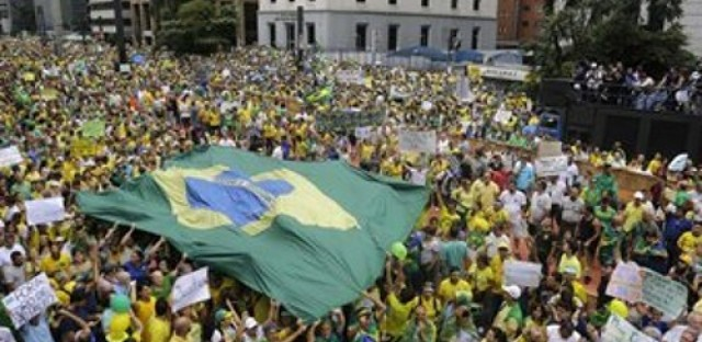 Protests in Brazil, a controversial Northern Irish tradition, and the threat of microplastics