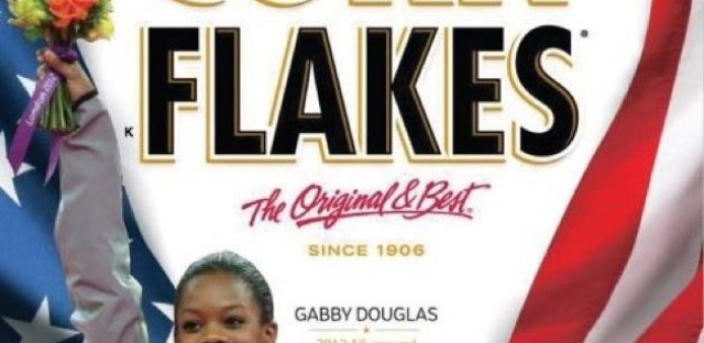 Gabby Douglas lands on the cover of Kelloggs