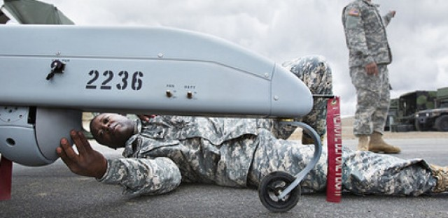 Drones and private contractors
