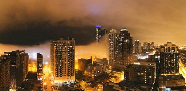 South Loop Fog: Photo of the Day - April 12, 2013