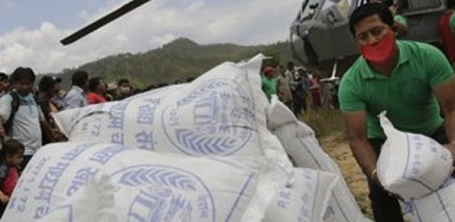 Earthquake relief efforts underway in Nepal