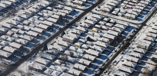 Chicago Winter Snow