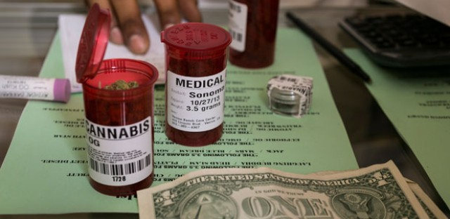 Medical marijuana prescriptions are filled at the Venice Beach Care Center medical marijuana dispensary in Venice, Calif. As Illinois nears the opening of its own dispensaries, some want to set up clinics to prescribe when other physicians won't.