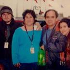 Adrian, Carmen, Alejandro and Alejandria Abaunza. (Courtesy of the family)