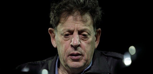 U.S. composer Philip Glass attends a news conference in Mexico City, Thursday, Nov. 5, 2009. Glass is scheduled to play two concerts in the city this week. (AP Photo/Gregory Bull)