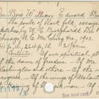 The Library of Congress card for W.E.B. Du Bois' The Souls of Black Folk: Essays and Sketches.