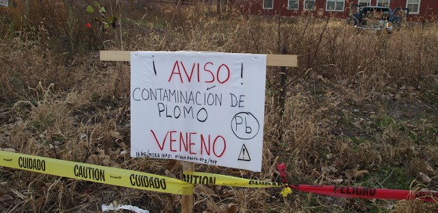 EPA cleans up lead contaminated lot in Pilsen