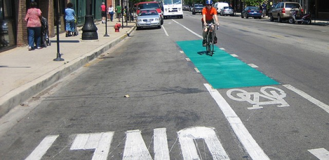 Bike infrastructure may be placed in areas that are most convenient instead of areas that are most dangerous to bikers, suspects Stephen Vance.