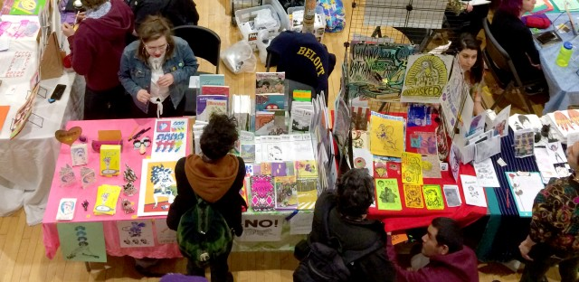 Students from North-Grand High School's zine club traded their publications across the sprawling Chicago Zine Fest this month.
