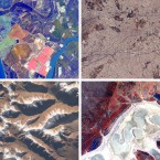 (From top left, clockwise) The coast of Spain; Athens; Australia; the Himalayas.