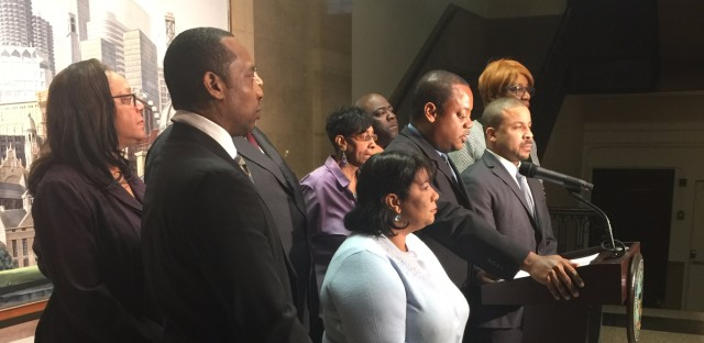 Members of the Chicago City Council's Black Caucus call for an African American veteran of the Chicago Police Department to be chosen as the next superintendent. The caucus also wants to interview all three finalists before Mayor Rahm Emanuel makes his selection.