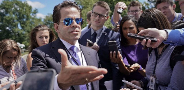 Anthony Scaramucci's financial disclosure form shows assets of up to $85 million.