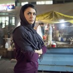 Nazanin Boniadi plays analyst Fara Sherazi on Showtime's Homeland.