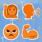 Power Up Emoji Sexual Harassment Vera Papisova Powerup