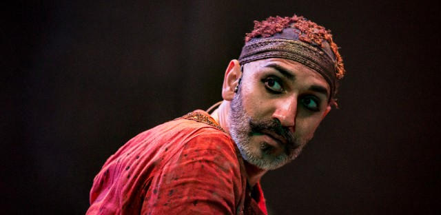 Lead actor, Kareem Bandealy as Captain Nemo in 20,000 Leagues Under the Seas