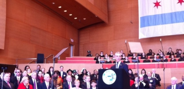 Audio transcript of Chicago Mayor Rahm Emanuel's inaugural address