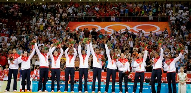 The U.S. women's basketball team grabs their fifth straight gold medal.