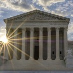 The U.S. Supreme Court will hear arguments on President Trump's travel ban in October.