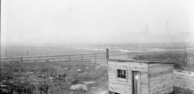 Streeter's shack, 1905