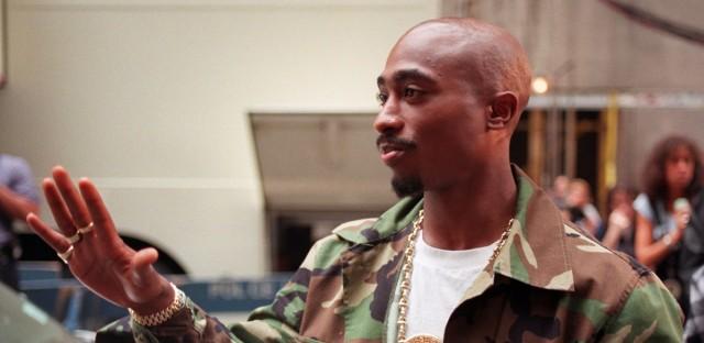 Rapper Tupac Shakur at New York's Radio City Music Hall, Wednesday, Sept. 4, 1996.