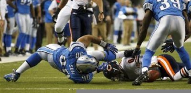 Bears fall 3 games behind after Monday night meltdown