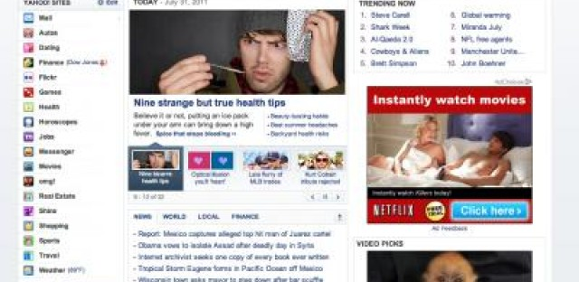 The last Yahoo! front-page story you'll ever need
