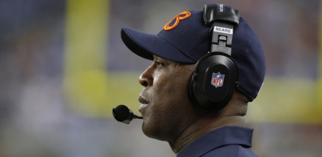 Lovie Smith won the final game of the 2012 season-but will he lose his job?