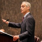 Chicago Mayor Rahm Emanuel speaks before the City Council in Chicago on Sept. 22, 2015.