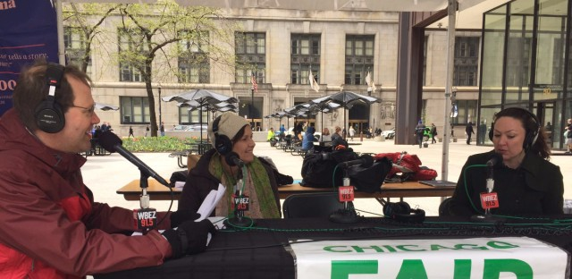 Jerome McDonnell live from Daley Plaza