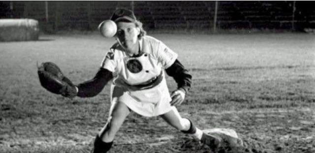 "Dorothy ""Kammie"" Kamenshek (above) was consideredthe greatest player ever to play in the league and was named one of the top 100 female athletes by Sports Illustrated. She was part of the inspiration behind the lead character, Dottie Hinson, in 'A League of Their Own."" Kamenshek died in 2010."