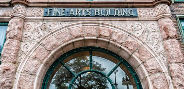 The Fine Arts Building at 410 S. Michigan Ave. has been a work space for artists and writers for more than 120 years.