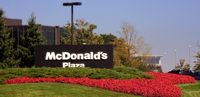 McDonald's Plaza, the current location of the fast-food giant's headquarters, is located in Oak Brook, Illinois.