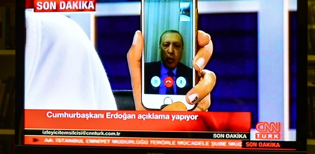 Turkey's President Harnesses Social Media To Help Quell Attempted Coup