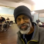 Simmie Carlton, a 69-year-old package handler for UPS, said he only plans to be at the Uptown men's shelter while his health recovers and he is on disability leave. While he's getting back on his feet, Carlton said the shelter has provided critical services, such as doctor referrals.
