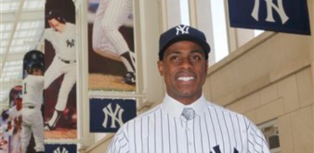 Curtis Granderson being dealt to the Yankees three years ago.