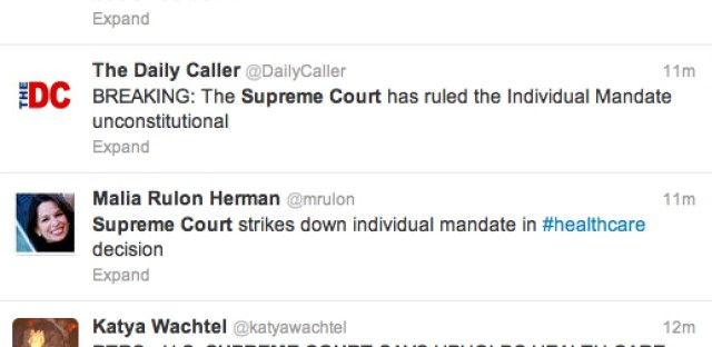 And the Supreme Court says...