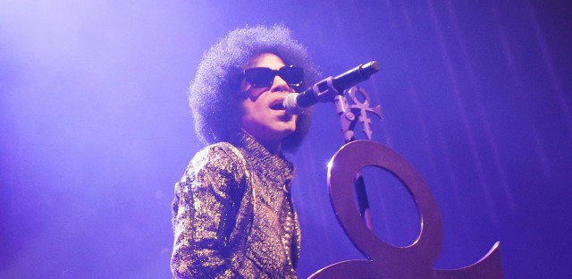 Prince on stage in Detroit in 2015. The singer announced on Friday that he was writing his memoir, due in 2017 from Spiegel & Grau.