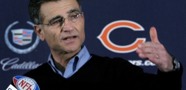 Chicago Bears fire General Manager Jerry Angelo, say goodbye to Offensive Coordinator Mike Martz