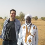 Abolition Institute co-founder Sean Tenner traveling with SOS Esclaves founder Boubacar Messaoud in rural Mauritania.