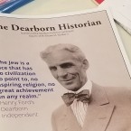 Journalist Bill McGraw wrote about Henry Ford's anti-Semitism in the Dearborn Historian.
