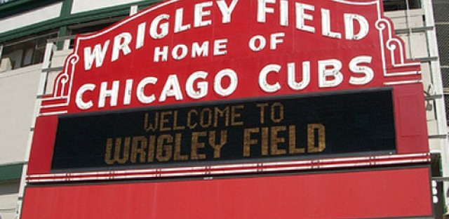Chicago Cubs home opener
