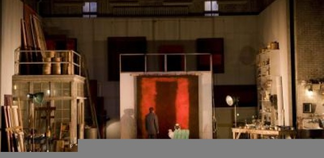 Where's the reality of Rothko in 'Red'?