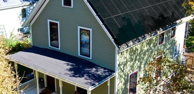 The Grocoff's of Ann Arbor, Michigan claim to own the country's oldest net-zero energy home.