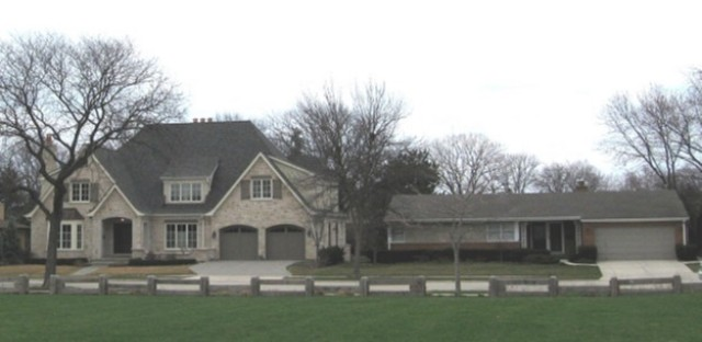 Two eras of Park Ridge houses
