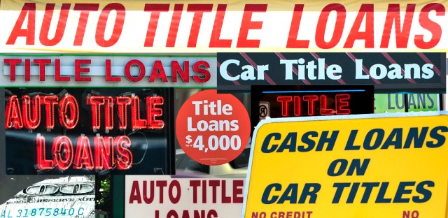 Car title loan lenders are scattered across Chicago. In Illinois, there are 57 companies licensed to do these loans but many have multiple locations.